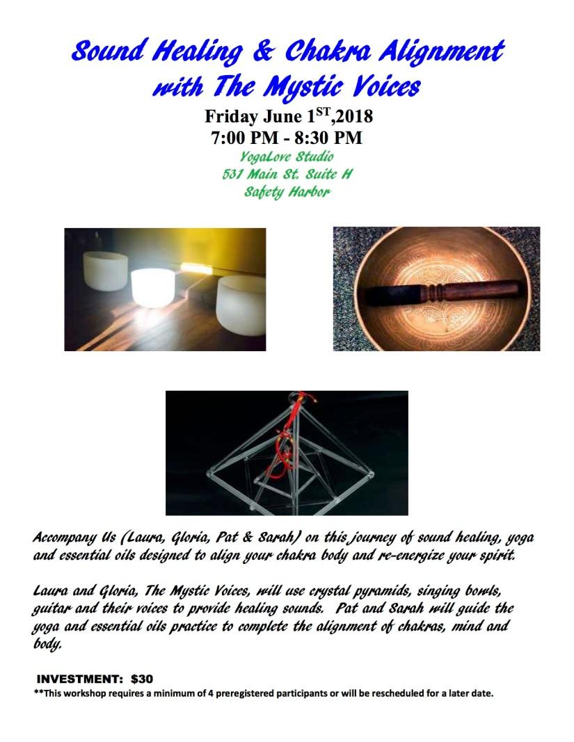 Sound Healing Flyer June 1