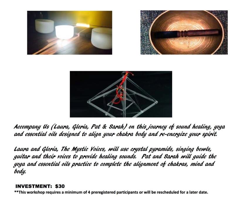 Sound Healing Flyer July 27