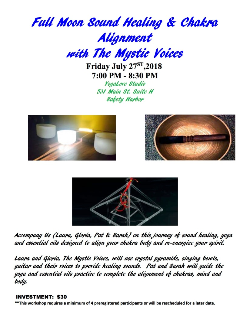 Sound Healing Flyer July 27