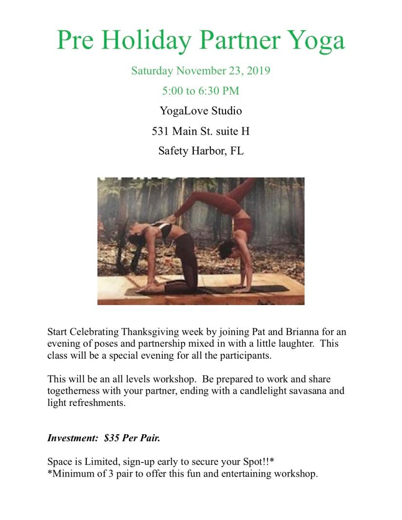 Partner Yoga 2019